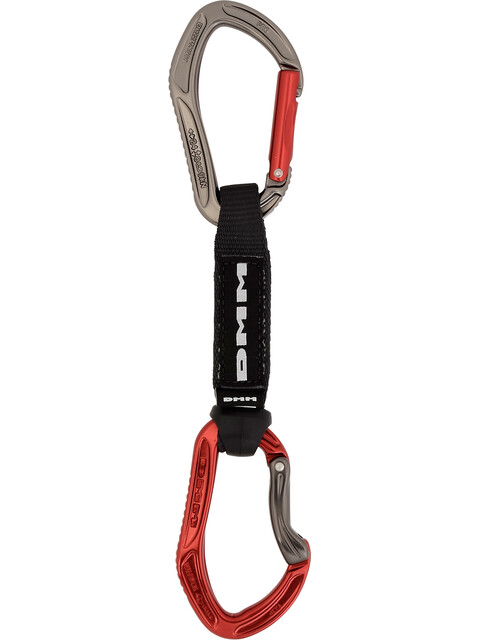 DMM Alpha Sport Quickdraw 12cm Titanium/Red